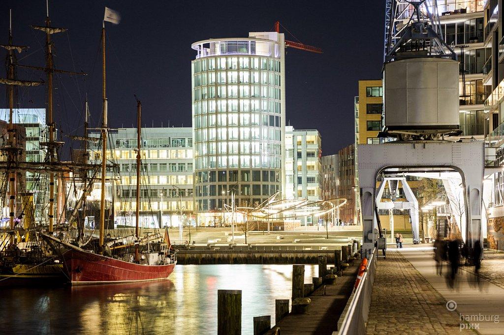 Hafencity - alt und neu