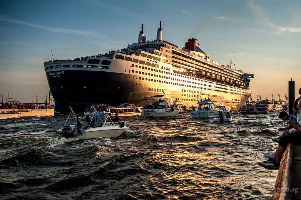 Tschüß Queen Mary 2