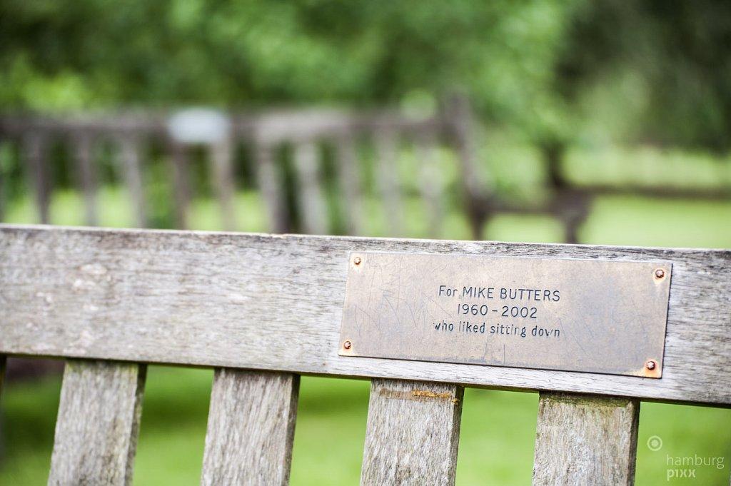 Recently, in Kew Gardens