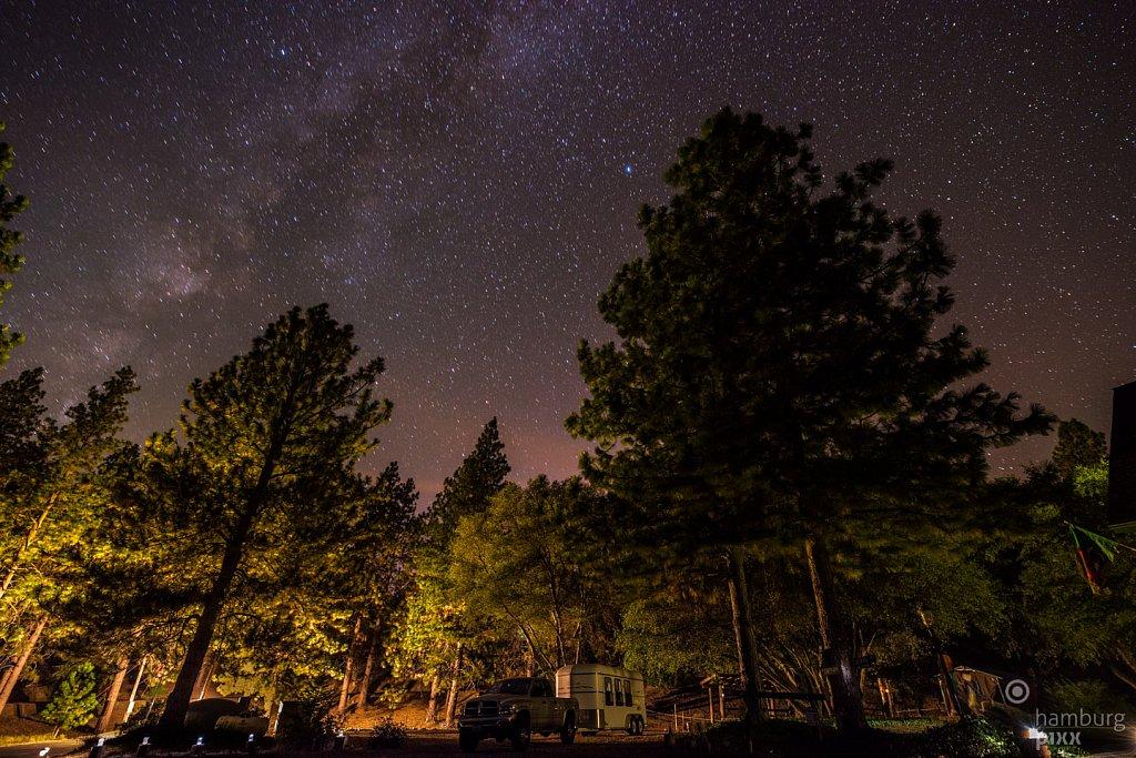 Nachthimmel über Oakhurst