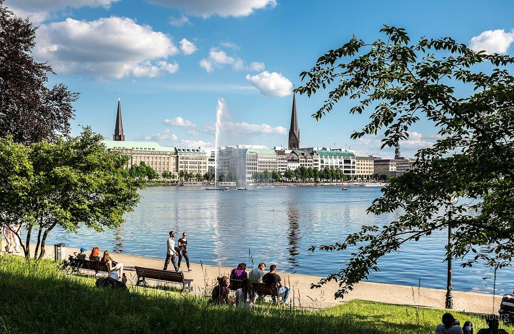 Sonniges Hamburg